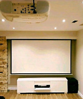 Projector/TV Wall Mount & Surround Sound Installation