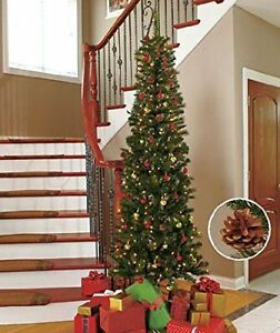 7 FT PRE LIT PENCIL ARTIFICIAL CHRISTMAS TREE WITH CLEAR LIGHTS Oakville / Halton Region Toronto (GTA) image 7