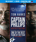 Captain Phillips (Blu-ray/DVD, 2014, 2-Disc Set, Includes Digital Copy; UltraViolet)