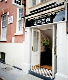 Kitchen Staff Required For Busy Mayfair Bar & Restaurant