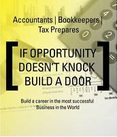 Accountants | Bookkeepers, Tax Prepares [Career Opportunity]