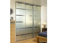 Bespoke fitted sliding wardrobes. Designed and fitted to maximise your space.