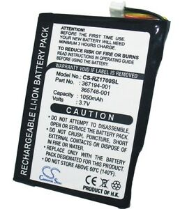 HP iPAQ rz1710 Replacement / Spare Battery 950mAh