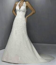 Stunning White Wedding Dress Size 10-12