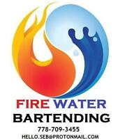 Anniversary Bartending Services - FireWater West Vancouver -Hir