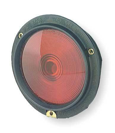 Grote 50502 Stop,Tail,Turn Lamp,Rubber Bodied,Red