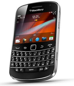 Blackberry 9900 with case