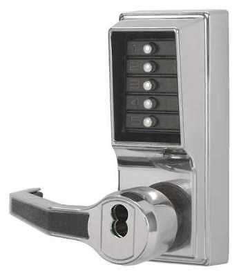 Kaba Simplex Lr1021b-026-41 Push Button Locksetrightbright Chrome