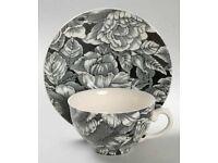 Myotts Pottery, Staffordshire. Tea cups and saucers, Vintage tableware.