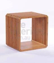 Bamboo square side table Woollahra Eastern Suburbs Preview