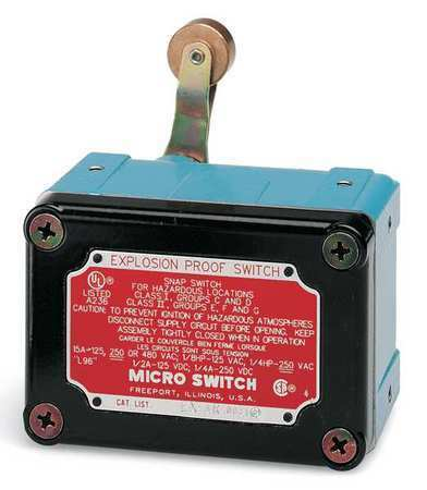 Honeywell Micro Switch Ex-Ar141 1Nc/1No Spdt Explosion Proof Limit Switch