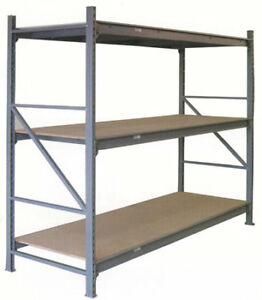 NEW & USED SHELVING, CANTILEVER RACKS, STORAGE BINS & CABINETS.