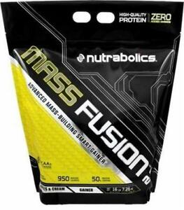 Nutrabolics Mass Fusion 2.0 (16lbs) WEIGHT GAINER - PRENEUR DE MASSE