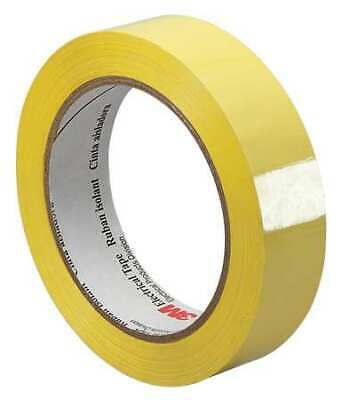 3m 3m 1318-1 0.5 X 72 Yds Yellow Electrical Tape 1 Mil 12x72 Yd. Yellow