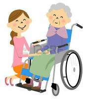Mature support worker available to help with  elderly /