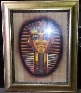 King Tut Framed Picture $199