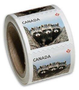 Roll of 100 Canadian Stamps