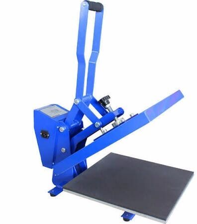 Heat Press Machine for VinylTransfer Paper Printing38cm x 38cmAuto ReleaseTeflon Pillowin Maidstone, KentGumtree - Heat Press machine in BLACK Comes with large Teflon pillow (worth £35) for reliable printing on uneven substrates, thermal tape & a roll of heat resistant printing paper (worth £20) that both protects the heat plate and also gives the desirable...