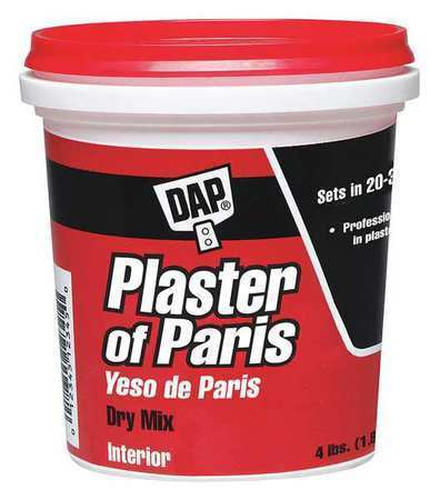 DAP 10308 4 lb. White Plaster of Paris