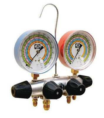 Jb Industries 25708 Manifold Gauge 4-valve