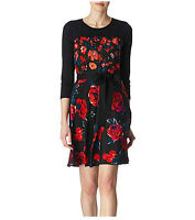 DKNY Ellis Floral Dress - Size 12 - 71% Off!!