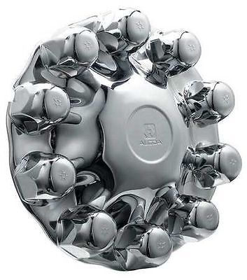 Alcoa Front Hub Cover Kit 1 Piece System Chrome ABS Plastic Part # 086100 ()