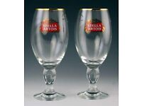 Bar Glasses real ale, lager. NEW