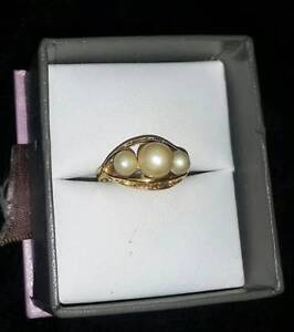 Pearl Ring 18k Gold $299 at Great Pacific Pawnbrokers