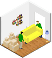 WANTED: movers at $17-$19/h + tips