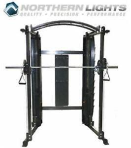 Northern/Lights Functional Trainer with Power Rack, Proudly Made In Canada With Canadian Steel On Sale 1488.00