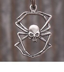 Pewter Spider + Snake Chain