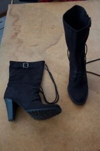 f5f65e27d46 Zara TRF Suede Boots