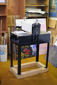"""Charles Brand Etching Press (16""""x30"""")-Collography"""