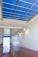 Interlocking PVC Panels Are Easy to Install for Walls/Ceilings