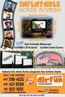 Portable HD Inflatable Movie Theater Screen for Rent