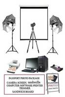 PASSPORT PHOTO SETUP FOR ANY BUSINESS IN ONE DAY
