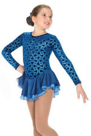 Girls Figure Skating Dress Ebay