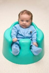 Bumbo seat - 2 available - green and blue