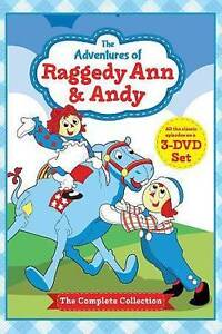 The Adventures of Raggedy Ann & Andy DVD