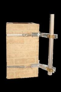 Chimney brackets for tv antenna