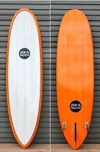 "NEW Surfboard - 6'10"" Triple Stringer - pin tail - Tangarine tint Newcastle 2300 Newcastle Area Preview"