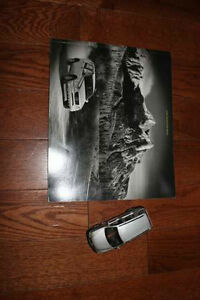 Mercedes M Class Die Cast Model & Original Sales Brochure (2000)