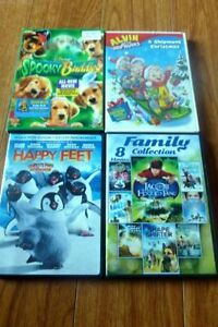 Kids DVD's and VHS Movies