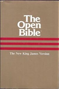 Bible Rare 1985 Open bible 1st Edition Tamworth Tamworth City Preview