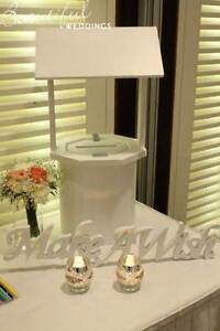 White Wishing Well - Large WEDDING EVENT HIRE Seaton Charles Sturt Area Preview