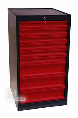 132372 Schubladenschrank Werkzeugschrank Materialschrank 9 Schubladen 40731