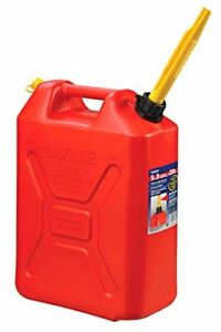 Scepter 20 Liter/5.3 Gallon Fuel Can, Military Style, Red