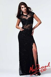 Designer Prom Dress Seen on Paris Hilton- Mac Duggal