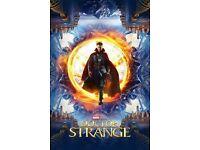 Doctor Strange at Moonlight Drive-in Cinema