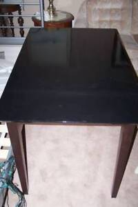 Small Dark Wooden Table 47.5 X 29.5 inches